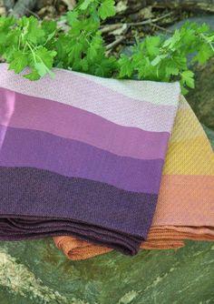 Girasol - Ardent Purple Diamond Weave