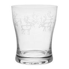 Pentik: Reindeer glasses Finland, Reindeer, Clear Glass, Shot Glass, Countries, Eve, Folk, Xmas, Favorite Recipes