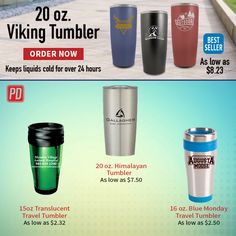 Time to save big at the #1 Rated Promotional Product store!  We have great sale on Drinkware for all your promotional needs!