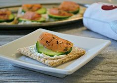 Lightened Up Smoked Salmon Appetizer (and giveaway!)