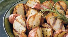 Grill-Roasted New Potatoes Recipe from Weber's Real Grilling™ by Jamie Purviance
