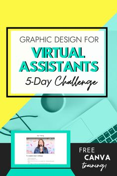 This free training for virtual assistants will help you get experience in graphic design and make money from home.