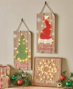 Lighted Holiday String Art Source by peggygoepelpg Related posts: Snowflake String Art / Christmas Decorations / Holiday Decor / Christmas Decor / Christmas Gift / Hilograma Ideas, Gift Ideas, String Art Diy, Light Up Canvas, Wood Crafts, Diy Crafts, Resin Crafts, String Art Patterns, String Art Tutorials