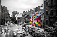 New York Street Art by Thomas Lohest, #NY #streetart