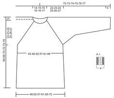 """Day After Day - Pull DROPS au point de riz avec emmanchures raglan, tricoté de haut en bas (ʺtop downʺ),en """"Cloud"""" ou """"Eskimo"""". Du S au XXXL. - Free pattern by DROPS Design"""