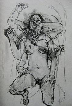 psychotic-art: Jenny saville