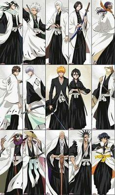 Bleach Fanart, Bleach Manga, Shinigami, Anime Naruto, Manga Anime, Bleach Ichigo Bankai, Bleach Captains, Black Clover Anime, Cool Animations