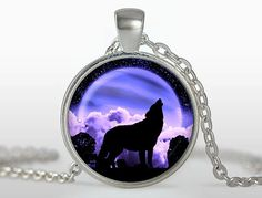 What a wolf in a supermoon inside!