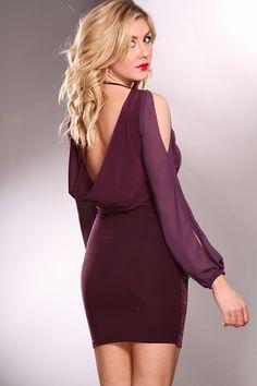 unique-purple-party-dresses- Cute Dresses, Summer Dresses, Party Dresses, Purple Party Dress, Sexy Skirt, Beautiful Gowns, Sleeve Styles, Cold Shoulder Dress, Bodycon Dress