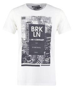 Camiseta print - white - Zalando.es 59ab5c3314d