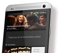 HTC BlinkFeed™. Tu pantalla de inicio con las últimas novedades.