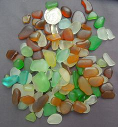 Beach Glass or Sea Glass of Hawaii beach 100 by SeaGlassFromHawaii, $49.00 - 9/11. Double click to purchase. AMAZING PIECES!