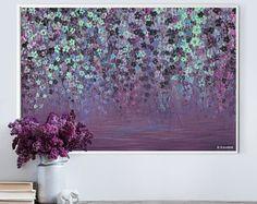 Pintura abstracta grande pared acrílico arte pintura abstracta