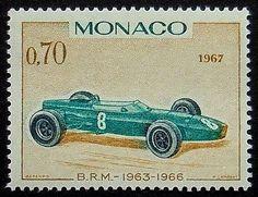 B.R.M 1933-1936 del coche de competición de la vendimia 1967 de Mónaco