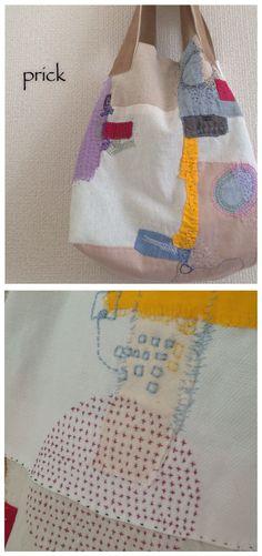 Patch & hand stitch bag