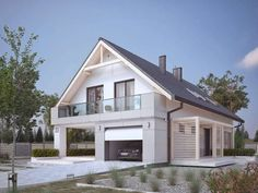 homify / BIURO PROJEKTOWE MTM STYL: moderne Häuser von BIURO PROJEKTOWE MTM STYL