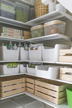 Ikea storage pantry garage 26 new ideas Ikea -. - Ikea DIY - The best IKEA hacks all in one place Kitchen Storage Containers, Home Organisation, Ikea Organization, Ikea Storage, Organizing Your Home, Organising, Home And Living, Sweet Home, New Homes