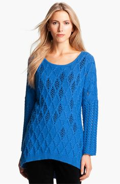 Love this for spring...Nic + Zoe Bateau Neck Mix Knit Sweater available at #Nordstrom