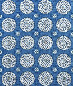 3 Park Tribal Thread Azure Fabric - $48.7   onlinefabricstore.net