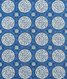3 Park Tribal Thread Azure Fabric - $48.7 | onlinefabricstore.net