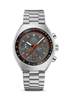 Collection   MARK II CO-AXIAL CHRONOGRAPH 42.4 X 46.2 MM Steel on steel