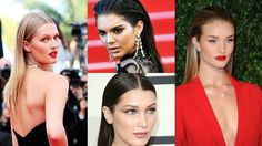 Feirinha Chic : Slick Hair - O penteado que bombou em Cannes