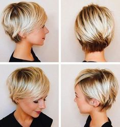 Pixie Haircuts with Bangs - 50 Terrific Tapers - Best Hairstyles Haircuts . - Pixie Haircuts with Bangs – 50 Terrific Tapers – Best Hairstyles Haircuts Pixie Hairc - Cute Short Haircuts, Haircuts With Bangs, Cute Hairstyles For Short Hair, Latest Hairstyles, Haircut Short, Blonde Pixie Haircut, Teenage Hairstyles, Hairstyles Haircuts, Short Blonde Pixie