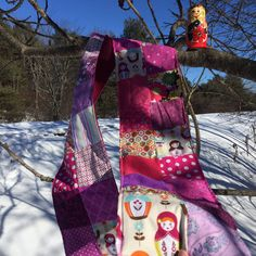 Russian Nesting Dolls Patchwork Scarf help to endure the cold winter months. Complimentary Colors, Winter Months, Life Is Good, Scarves, Cold, Pictures, Diy, Handmade, Scrappy Quilts