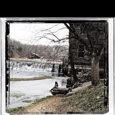 Another beautiful place that my husband and I really enjoy. So peaceful and beautiful! (Tracy)  Jolly Mill near Pierce City Missouri.