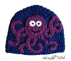 octopus hat. $27.00, via Etsy.