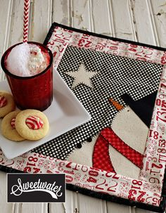 Adorable mini quilt by one of my favorite companies - Sweetwater