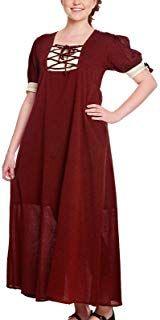 Leonardo Carbone Mittelalter Damen Kleid LYSA Kurzarm mit Schnürung Baumwolle Cold Shoulder Dress, Dresses, Fashion, Gothic Gowns, Clothing, Cotton, Vestidos, Moda, Fashion Styles