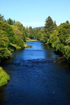Siletz River Oregon ~ My favorite place to go for hours in the Summer time. ..