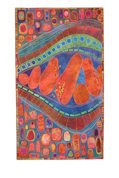 Ripe: Karen Kamenetzky Art Quilt