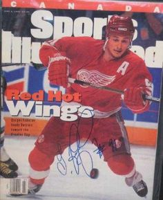 Sergei Fedorov autographed Sports Illustrated Magazine (Detroit Red Wings) ** You can find more details by visiting the image link.