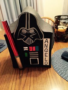 Darth Vader Boy Valentines Box