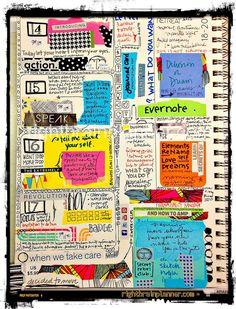 Art Journaling - week at a glance // week 30 (by stargardener)