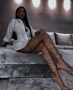 Boujee Outfits, Classy Outfits, Fashion Outfits, Summer Outfits, Black Girl Fashion, Look Fashion, Fashion Fashion, Korean Fashion, Winter Fashion