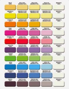 Resultado de imagem para quais cores misturar para dar verde