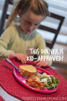 Kid Approved Lasagna Dinner - #NewFavorites #shop #cbias