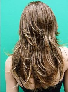 Layered Cut Caramel Highlights - Hairstyles and Beauty Tips