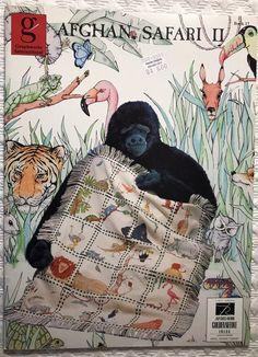 Afghan Safari II Cross Stitch Pattern Graphworks 20 Different Design Animals OOP  | eBay
