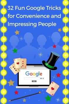 Here are some fun Google tricks to impress your friends. Google is everything: tip calculator to translator, space to the meaning of life. 32 Cool, Google Tricks, Funny Google Searches, Party Hacks, Meaning Of Life, Some Fun, Calculator, Digital Marketing, Meant To Be