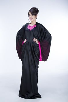 Rue Princess Abaya is tailored using satin crepe fabric and features detailing at the sleeves made out of 100% silk chiffon. The collar is an intricate crotchet detail, and the piece is accompanied by a chiffon hijab. ‪#‎hijab‬ ‪#‎abaya‬ ‪#‎design‬ ‪#‎fashion‬ ‪#‎muslim‬ ‪#‎style‬ ‪#‎couture‬ ‪#‎KSA‬ ‪#‎USAmuslim‬ ‪#‎UKmuslim‬ ‪#‎EGYPT‬ ‪#‎Jordan‬ ‪#‎islamicfashion‬ ‪#‎jeddah‬ ‪#‎hijablover‬ ‪#‎hijaber‬ ‪#‎abayalover‬‬ ‪#‎hijaboutfit‬ ‪#‎jeddahstyle‬ ‪#‎muslimtrend‬ ‪#‎muslimstyle