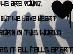 Hollywood Undead. Young. True story...