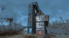 """Post with 27 votes and 3166 views. Starlight Drive-In """"Humble Settlements"""" Fallout 4 Tips, Fallout 4 Settlement Ideas, Building Plans, Skyrim, Empire State Building, Memes, Cool Art, Video Games, Post Apocalyptic"""