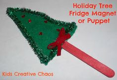 for Kids Creative Chaos (Activities): 7 Homemade Christmas Ornament Craft Ideas