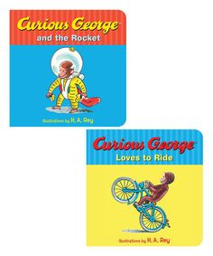 Curious George & the Rocket Board Book Set | zulily