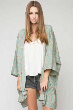 Brandy ♥ Melville   Antonia Kimono Top - Outerwear - Clothing