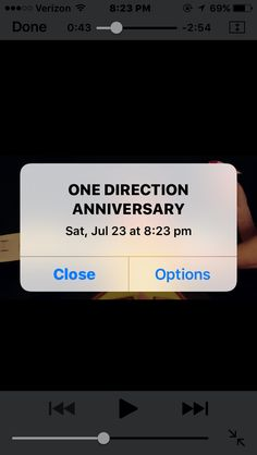 HAPPY 6 YEAR FORMATION ANNIVERSARY ONE DIRECTION